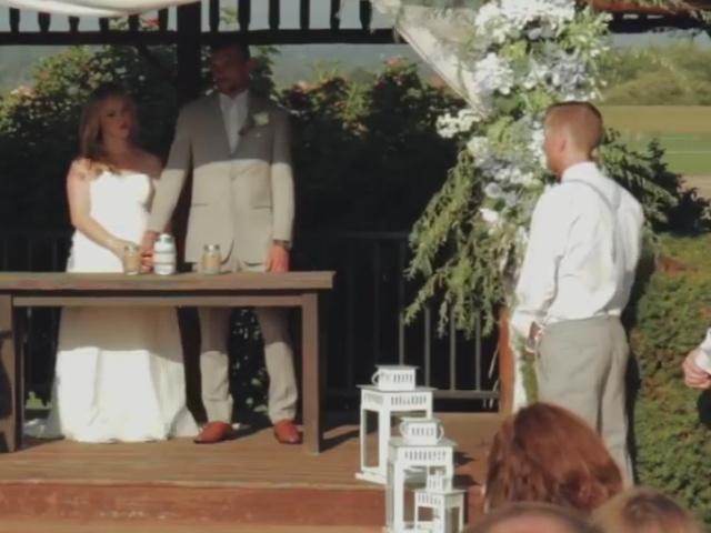 Друг жениха потерял сознание во время свадебной церемонии