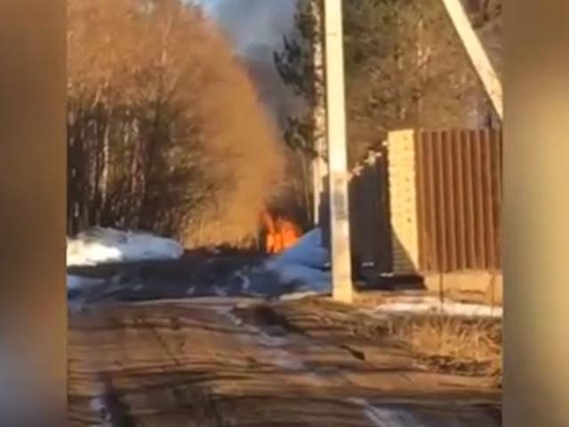 В Питере три школьницы сожгли чужой дом, чтобы снять видео для Instagram