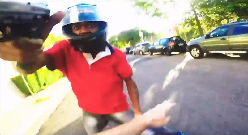 Как происходят ограбления средь бела дня в Бразилии