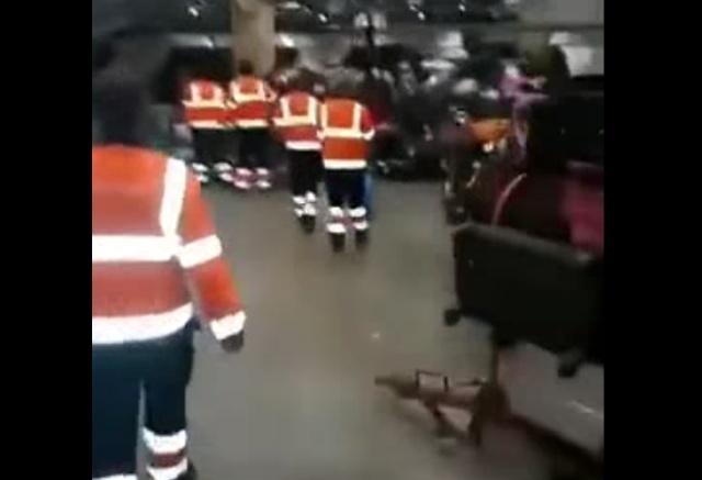Что происходит с багажом в аэропорту Шереметьево