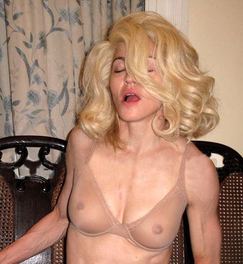 Мадонна перед фотосессией (6 фото)