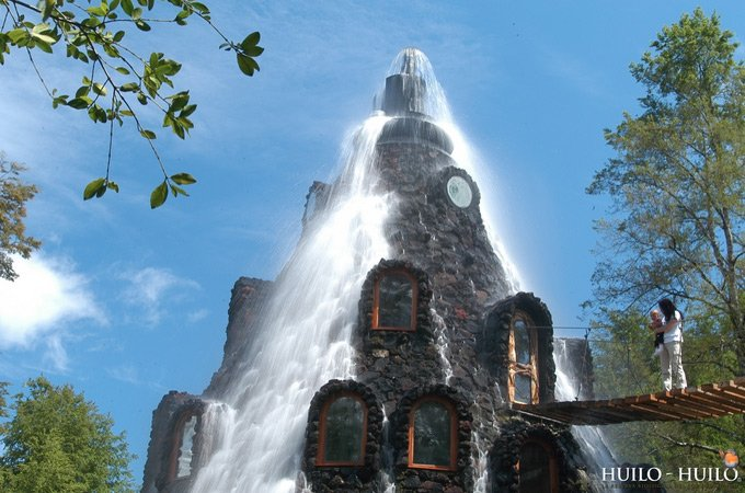 Отель Magic Mountain Lodge в Чили (12 фото)