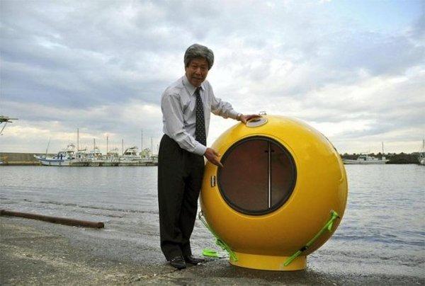 Спасательная капсула от наводнений и цунами (3 фото + текст)