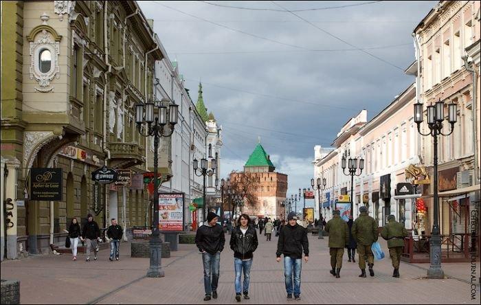 Нижний Новгород в начале 20 века и сейчас (40 фото)