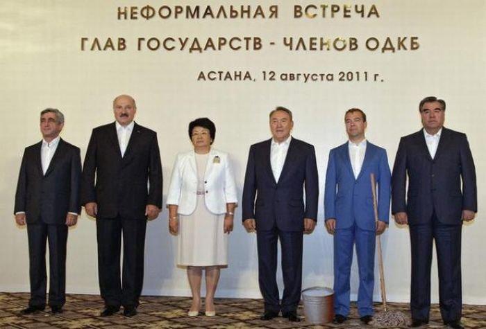 Встреча глав ОДКБ (18 фото)