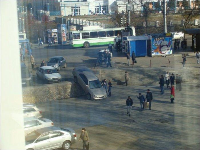 Парковка в Иркутске (5 фото)