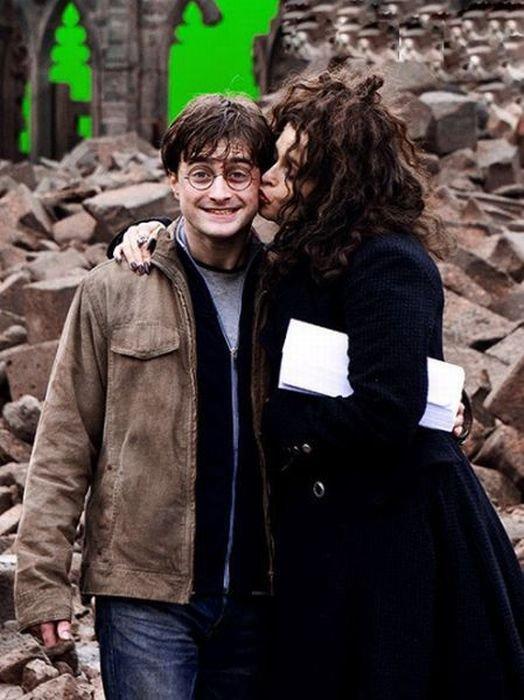 На съемочной площадке Гарри Поттера (55 фото)