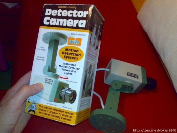 Прикол с камерой наблюдения (2 фото + текст)