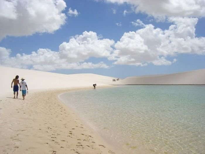 Озера посреди пустыни (42 фото)