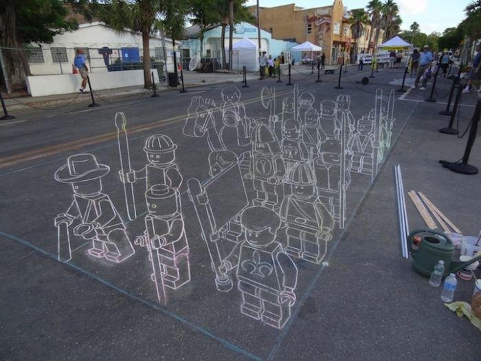 Создание 3D рисунка (7 фото)