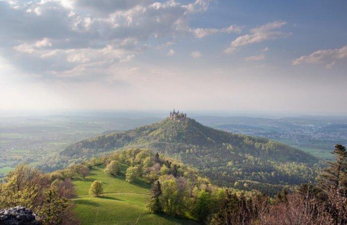 Замок Гогенцоллерн (6 фото)