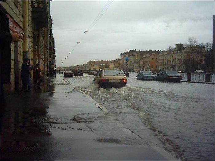 Наводнение в Санкт-Петербурге (5 фото)