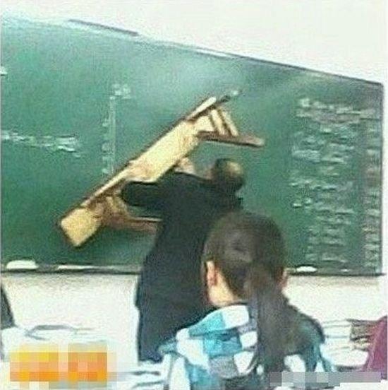 Учителя в школах Китая (8 фото)