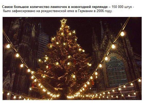 Новогодние рекорды (18 фото)