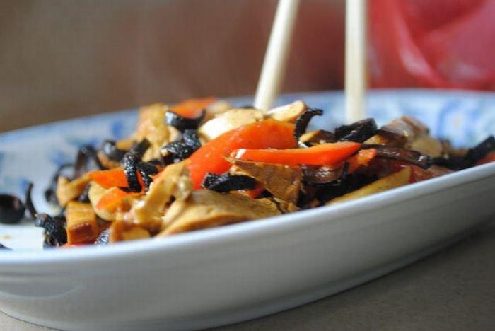 Китайский салат (33 фото)