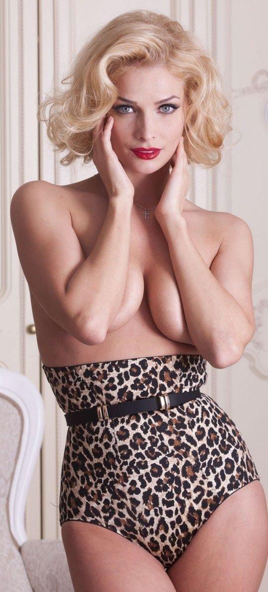 Татьяна Котова в Playboy до и после фотошопа (6 фото)