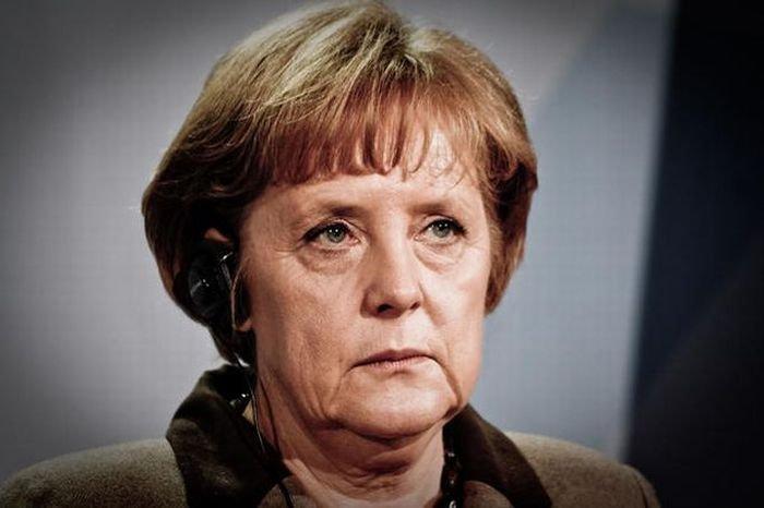 Ангела Меркель в домашней обстановке (5 фото)