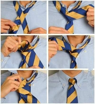 Как завязать галстук и галстук-бабочку (8 фото)