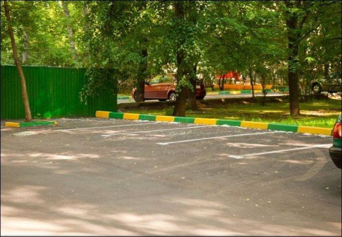 Отличная парковка (7 фото)