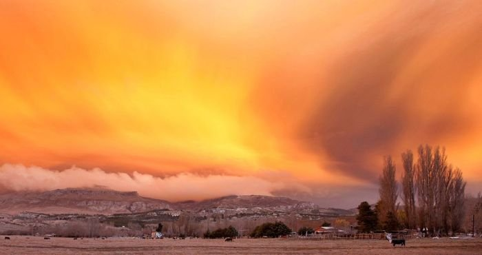Последствия извержения вулкана (20 фото)