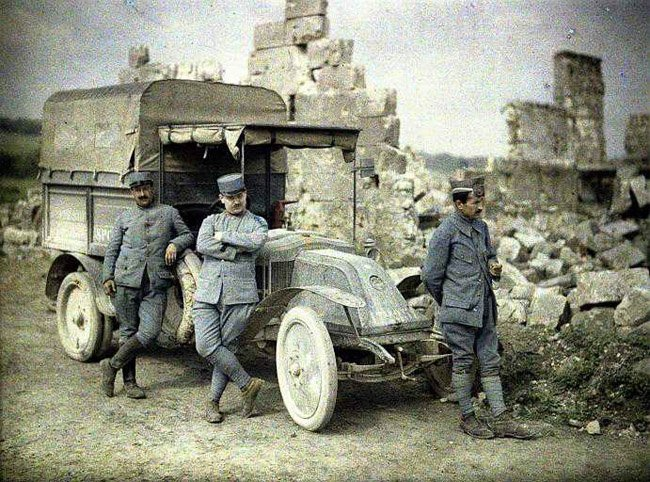 Цветные фотографии Первой Мировой Войны (20 фото)