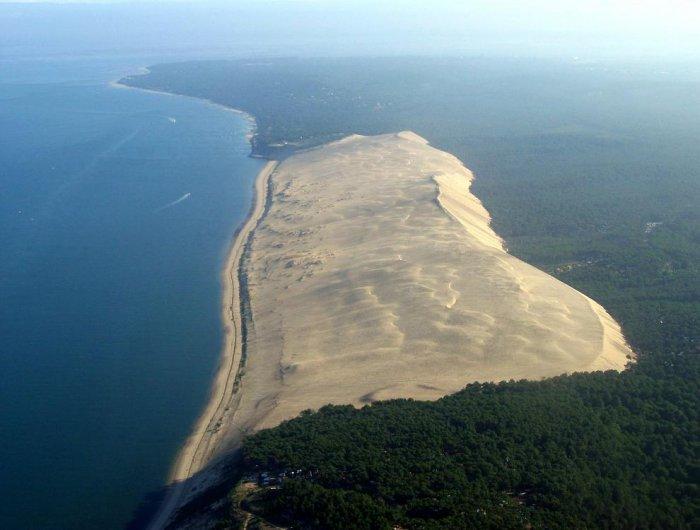 Самая большая песчаная дюна Европы (20 фото)