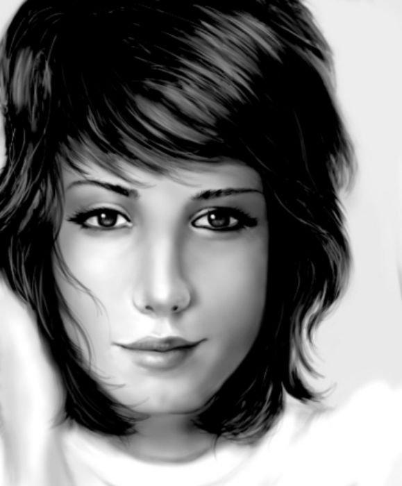 Портреты, сделанные в фотошопе (20 фото)