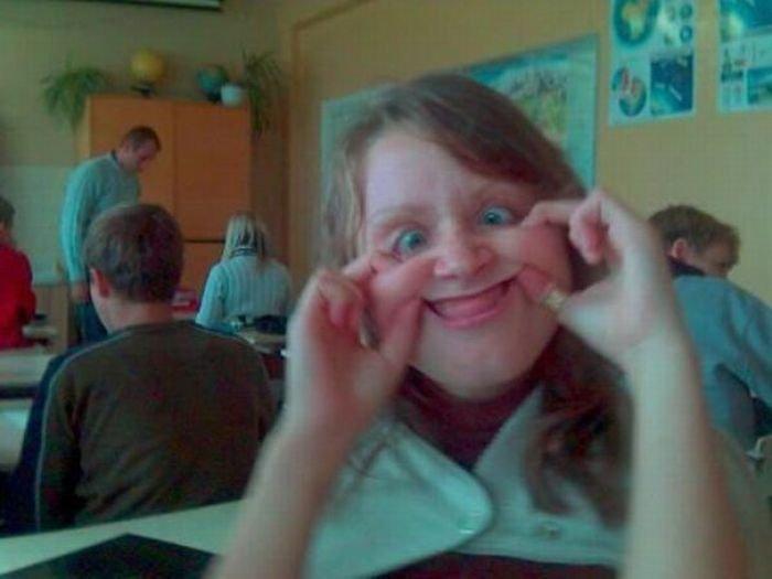 Забавные лица (66 фото)