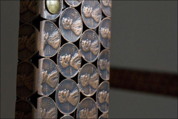 Вещи, сделанные из монет (15 фото)