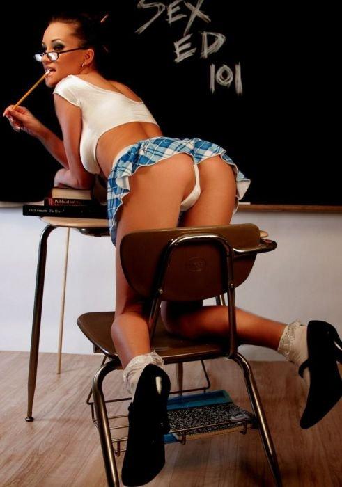 Девушки готовятся к школе (77 фото)