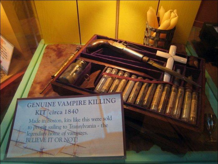 Наборы для истребления вампиров (26 фото)