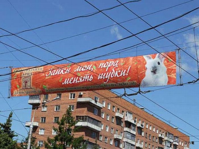 Странная реклама (30 фото)