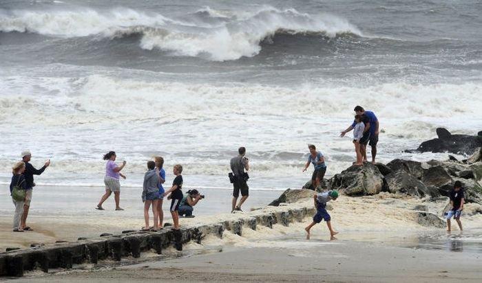Позитивный взгляд на ураган Ирэн (38 фото)