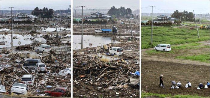 Япония после цунами (15 фото)