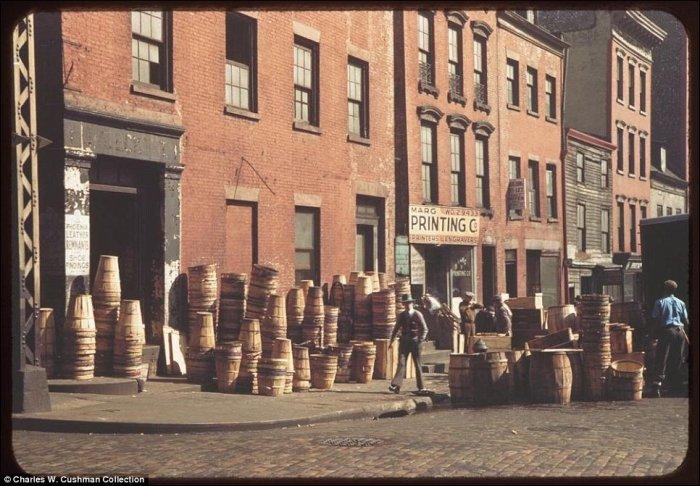 Нью-Йорк в начале 1940-х годов (27 фото)