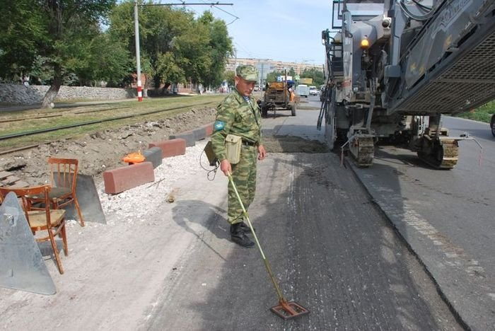 Сапер в Ульяновске (2 фото)