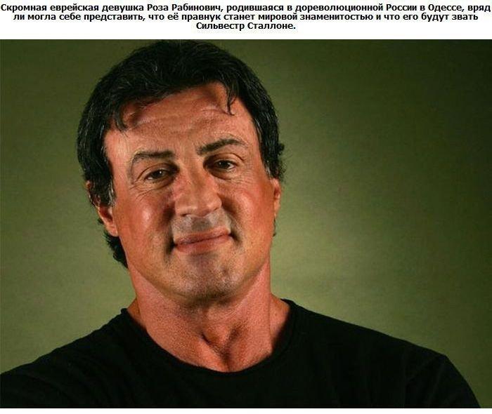 Знаменитости с русскими корнями (10 фото)