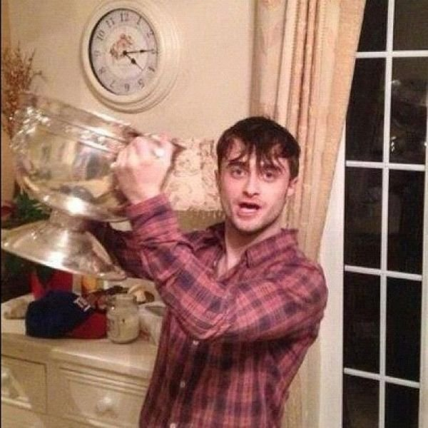 Пьяный Гарри Поттер (5 фото)