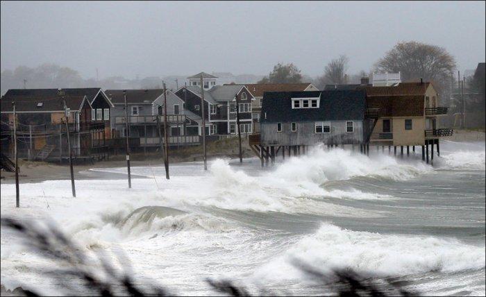 Ураган Сэнди в США (47 фото)