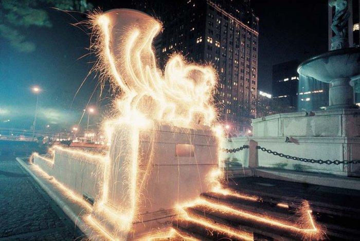 Световое граффити от Эрика Столлера (14 фото)