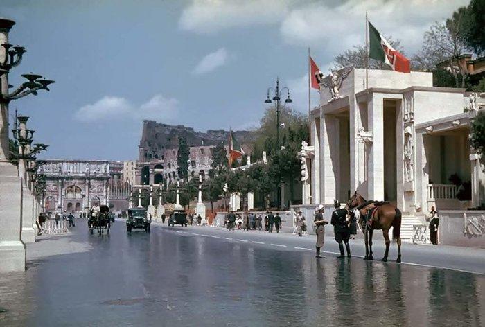 Цветные снимки Италии 1938 года (20 фото)