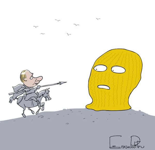 Подборка карикатур (60 фото)