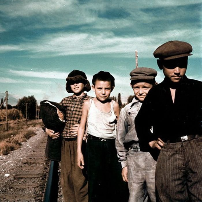 Жители СССР 50-х годов (30 фото)