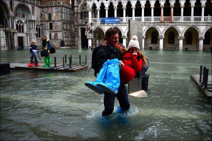 Венеция под водой (30 фото)