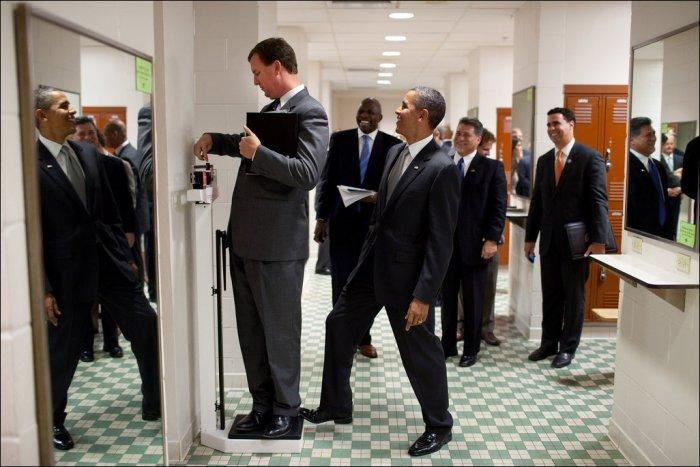 Снимки пресс-службы Барака Обамы (51 фото)