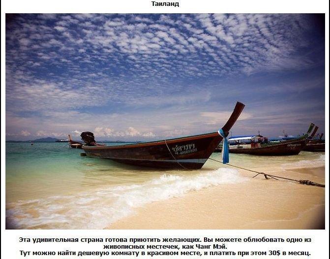 Зарубежные страны с недорогой жизнью (22 фото)