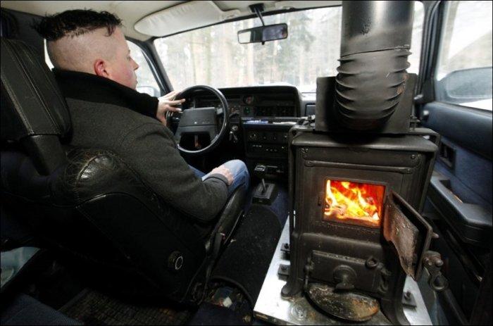 Зимний тюнинг (2 фото)