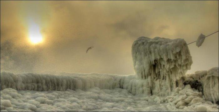 Зима в Одессе (16 фото)