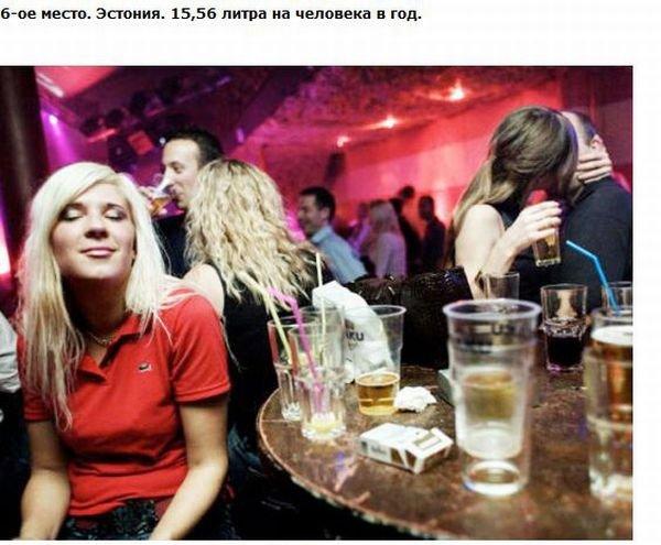 Самые пьющие страны мира (27 фото)