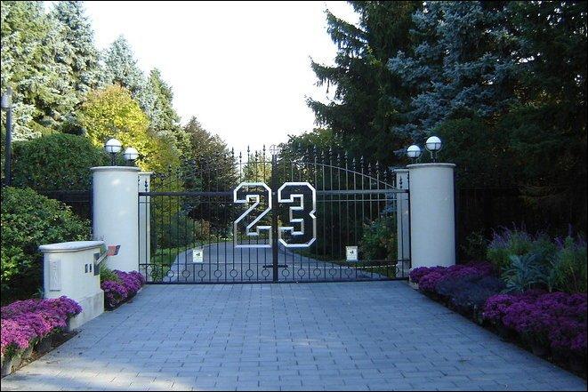 Дом Майкла Джордана (8 фото)